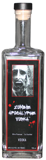 Zombie Apocalypse Vodka 750ml